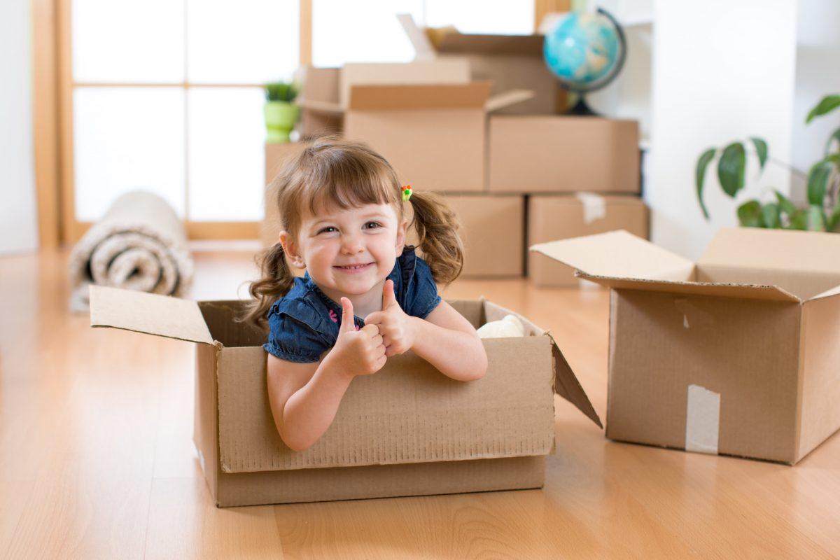 Getting Your Kids Excited About Your Residential Move